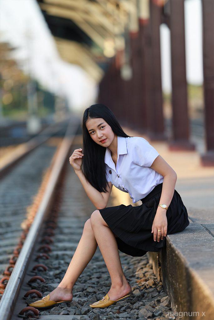 ภาพถ่ายชุดนักศึกษา Canon EOS RP เลนส์ Sigma 135mm f1.8 Art