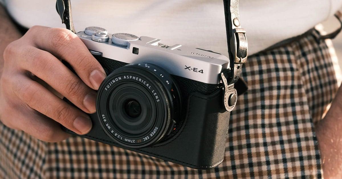 พรีวิวกล้อง Fujifilm X-E4