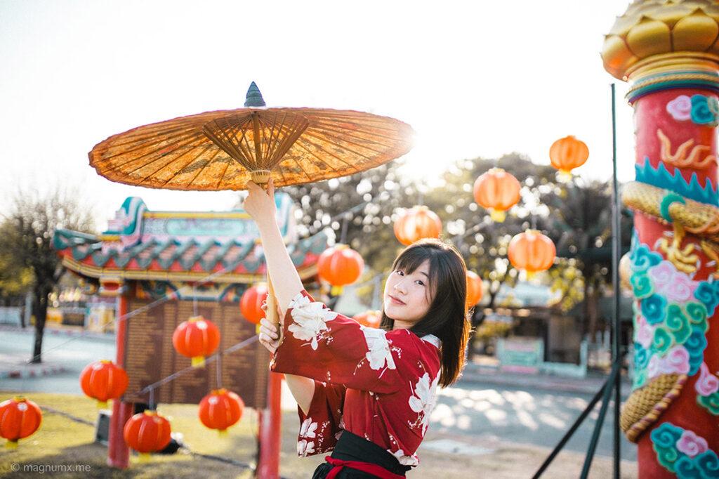 ถ่ายรูป Portrait เทศกาลตรุษจีน